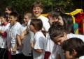 """Много подаръци и прекрасен спомен от инициативата """"Да спортуваме ЗАЕДНО"""" за децата от Кочан, Хаджидимово, Гоце Делчев и Симитли"""