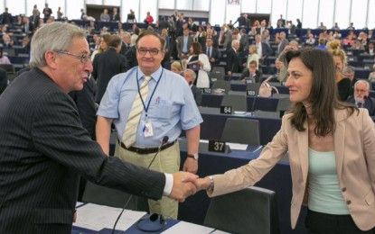 Мария Габриел призова Жан-Клод Юнкер за бързо разрешаване на въпроса с приемането на България и Румъния в Шенген