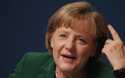 Ангела Меркел: Мирното падане на Берлинската стена беше чудо