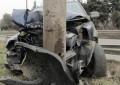 16-годишен катастрофира в бетонен стълб край Мелник