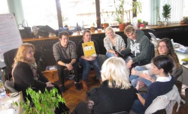 Студенти от Белгия на гости на ОбСНВ Благоевград