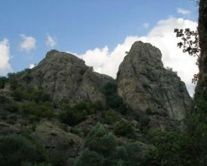 Скалата Кръста над град Рила