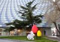 Община Благоевград отново изненада с нова великденска украса