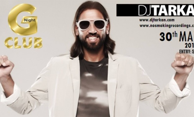 Световно известният DJ TARKAN идва в Gold Night Club ,за да зарадва всички свои фенове!!!