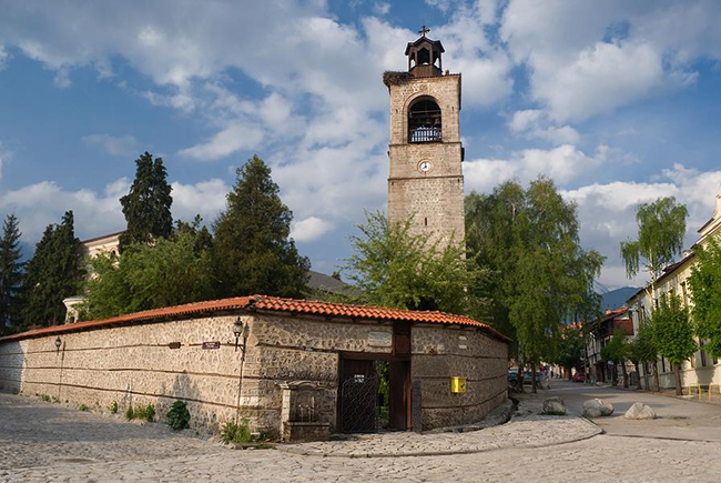 църква банско
